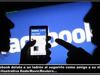 SI: Facebook delata a un ladrón al sugerirlo como amigo a su víctima