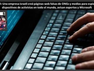 Israel Una empresa israelí creó páginas web falsas de ONGs