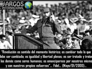 """Cuba: Historia: 26 de julio – Fidel Castro: """"¡Cambiar todo lo que debe ser cambiado!""""  …""""Revolución"""