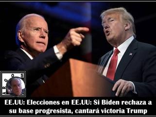 EE.UU: Elecciones en EE.UU: Si Biden rechaza a su base progresista, cantará victoria Trump