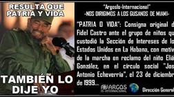 """Cuba: """"Patria o Vida""""… Fidel Castro…"""