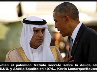 AS: Revelan el polémico tratado secreto sobre la deuda alcanzado entre EE.UU. y Arabia Saudita en 19
