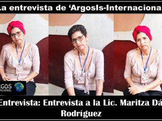 La Entrevista: Entrevista a la Lic. Maritza Dávila Rodríguez Miembro, Coordinadora General de la Age