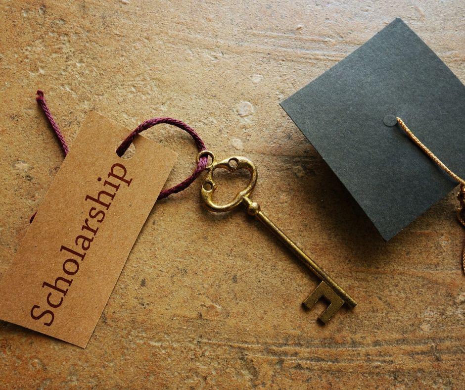 scholarships, key, graduation cap