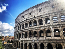 The Savvy International Founder visiting Rome, Italy.