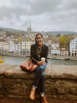 The Savvy International Founder visiting Zurich, Switzerland