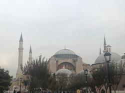 The Savvy International Founder visiting Hague Sophia in Istanbul, Turkey