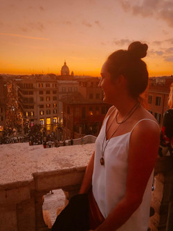 The Savvy International Founder visiting Rome, Italy to learn about international students.