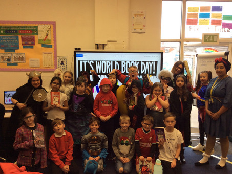 Looking Fabulous for World Book Day Year 4!