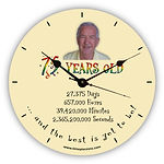 personalised novelty clock