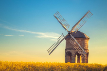 Chesterton Windmill and the rapeseed.jpg