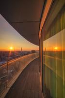 Rotunda Sunset Portrait
