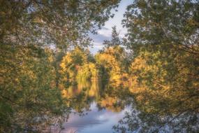 Lea Marston Lakes in Spring