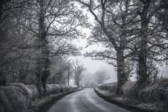On The Wintry Road No 2