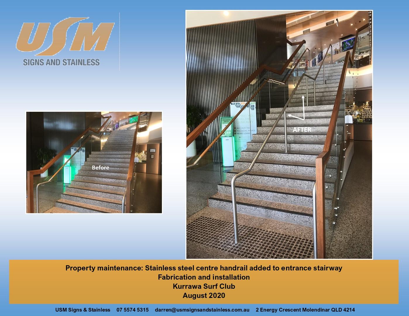Kurrawa Handrail
