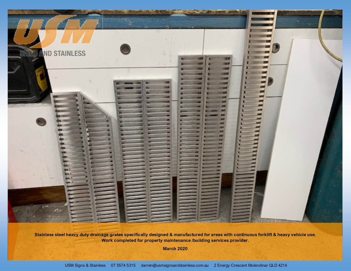 Heavy Duty Stainless Steel Grates