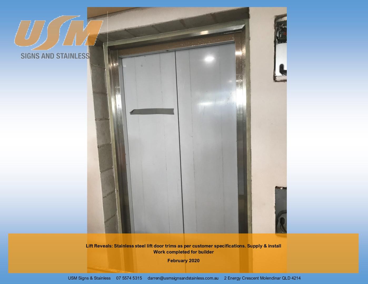 Lift reveals