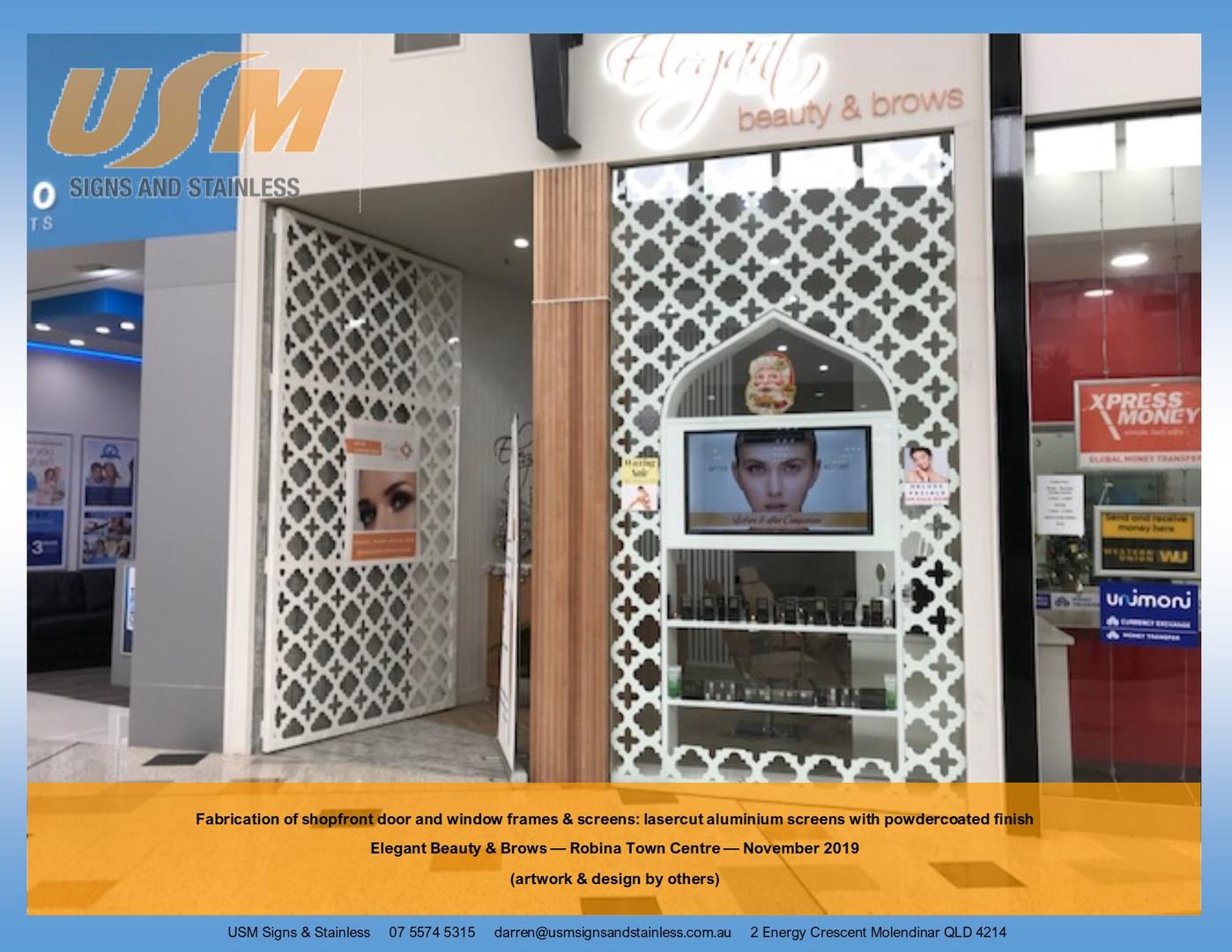 Beauty & Brows Shopfront