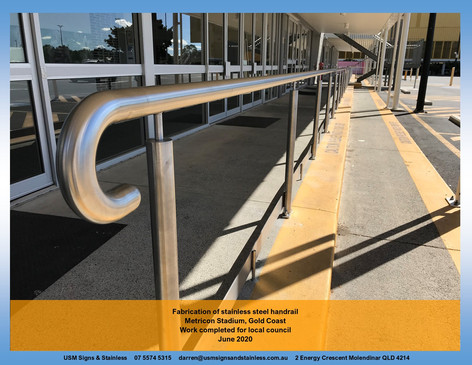 Stainless Steel Handrail