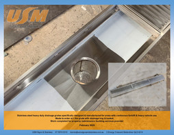 Stainless Grate with Tray