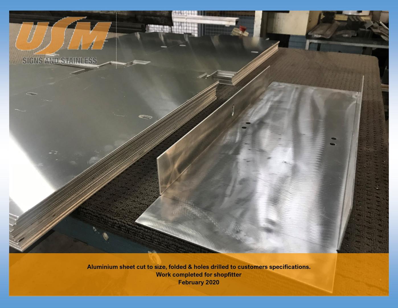 Aluminium Sheet cut to size