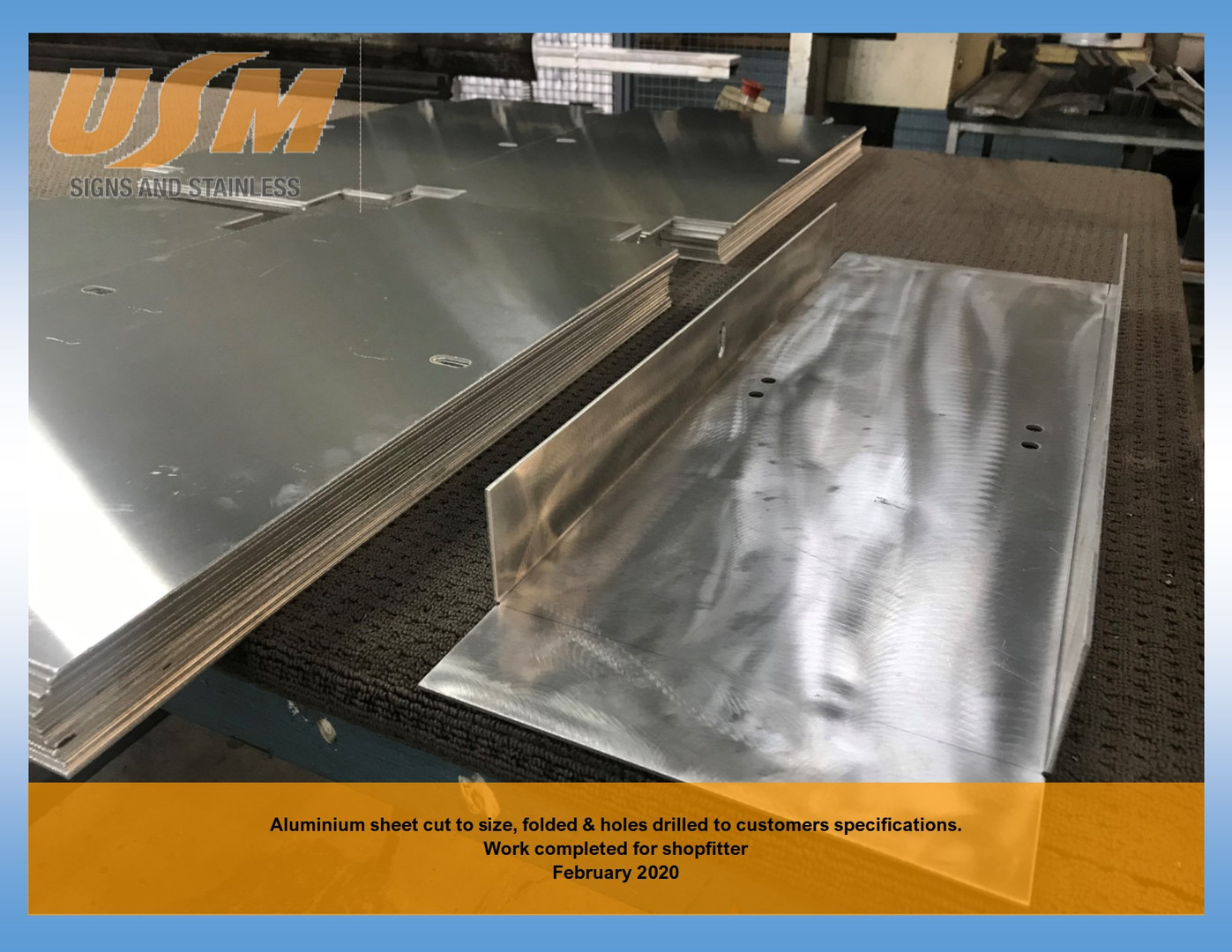 Aluminium Sheet cut to size