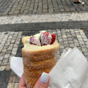 Chimney Cakes: How I discovered this yummy treat in Prague.