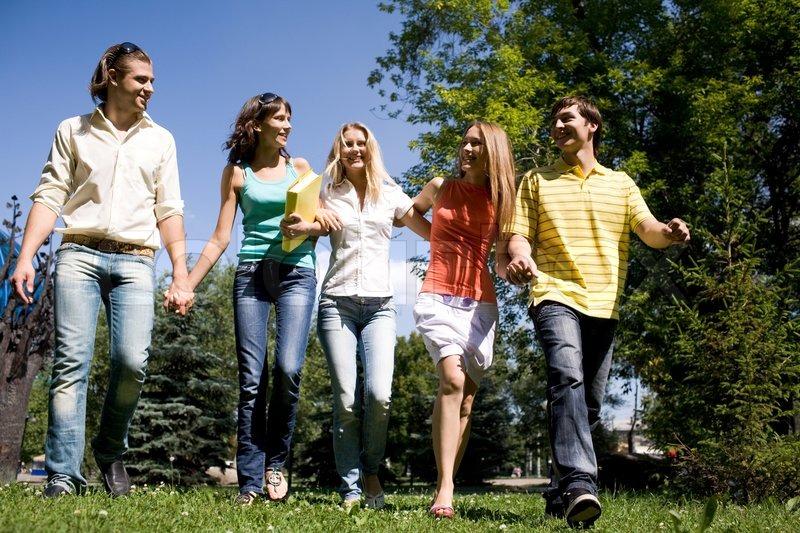 6599914-walking-together