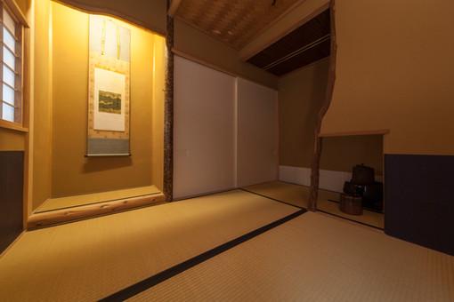 東京都目黒区の茶室・和風建築「東籬庵」床の間