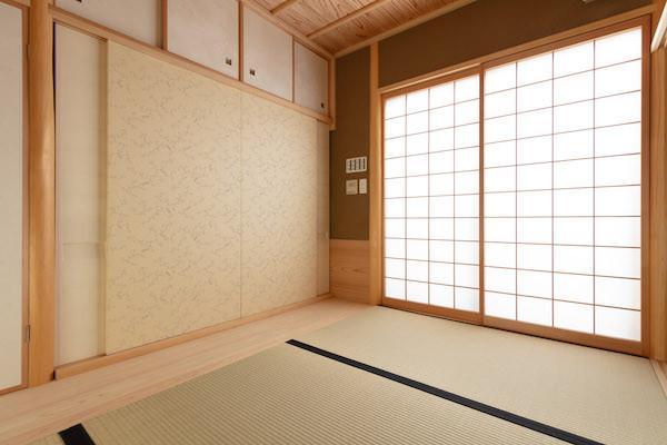 東京都港区の茶室「華久庵」の茶室