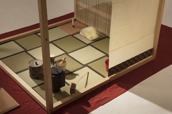 Zen-An禅庵、和紙側より