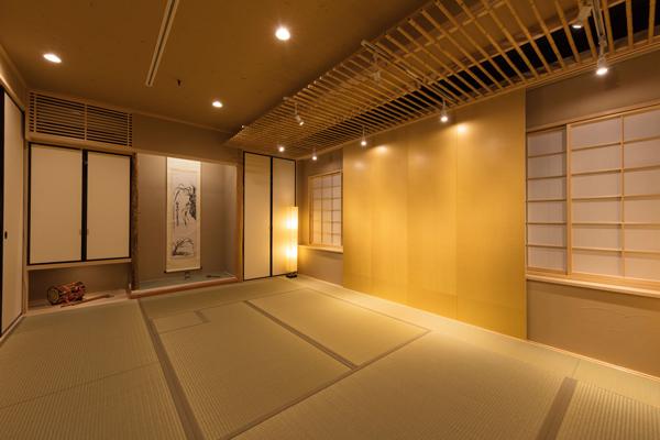 茶室・お座敷(屏風4枚)