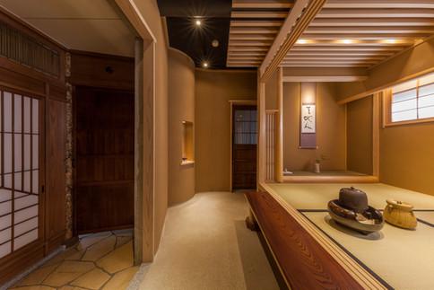 Interior | Japanese Tea House(Chashitsu) in the building | Tokyo,Japan | Tsubaki Architectural Design Institute