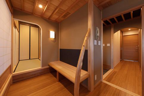 和風建築・和風住宅   腰掛け   東京都   椿建築デザイン研究所