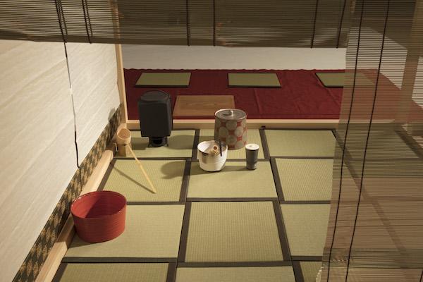 Zen-An禅庵、簾側より