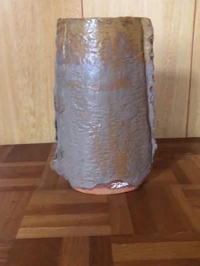 銅鐸型花器