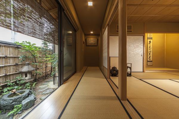 廊下-茶庭
