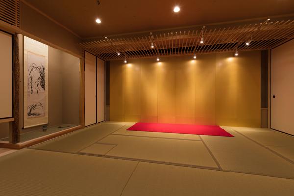 茶室・お座敷(屏風8枚)