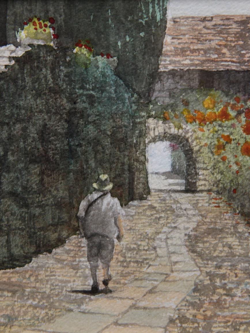 南仏の石畳