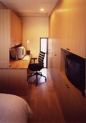 寝室書斎スペース