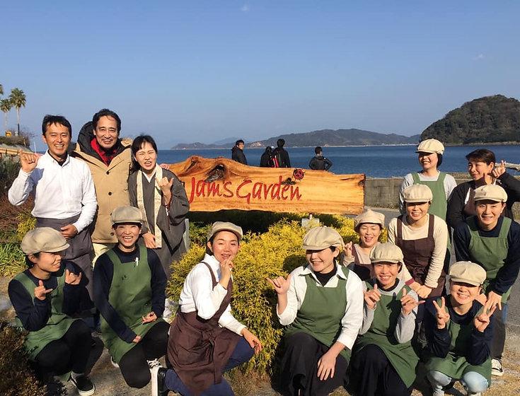 NHKにっぽん水紀行の瀬戸内ジャムズガーデン特集
