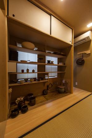東京都目黒区の茶室・和風建築「東籬庵」水屋