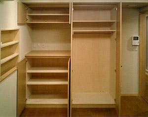 1階 寝室収納