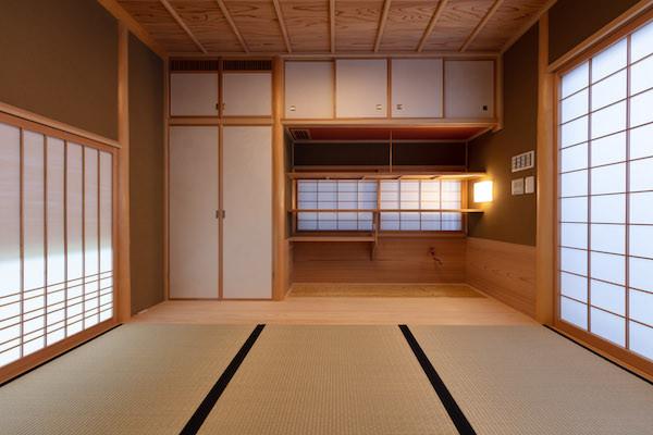 東京都港区の茶室「華久庵」の水屋