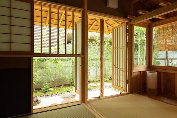 東京都港区の茶室「華久庵」