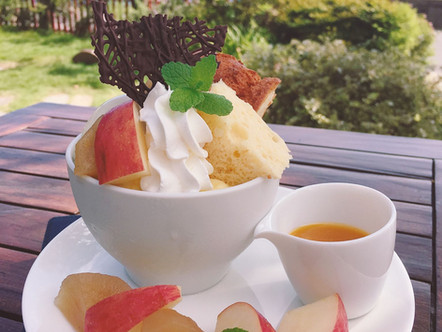 Cafe:~りんごの物語~秋の焼きジャムスイーツフェア