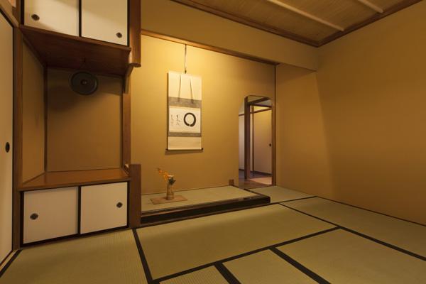 茶室床の間(1)