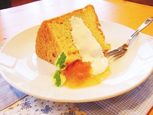 ジャム屋のふわふわシフォンケーキ