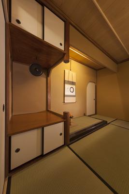 茶室床の間(2)