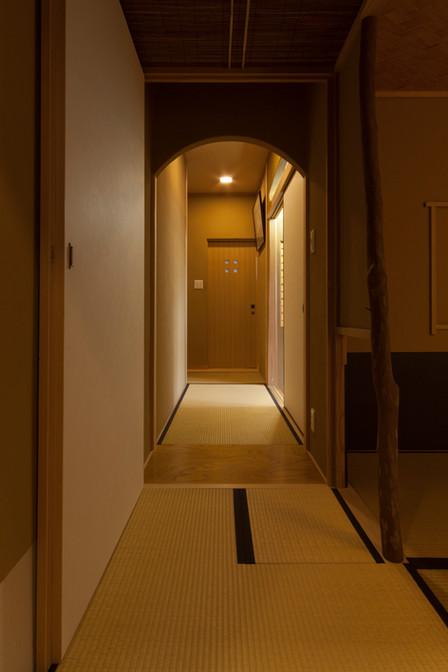 東京都目黒区の茶室・和風建築「東籬庵」内装
